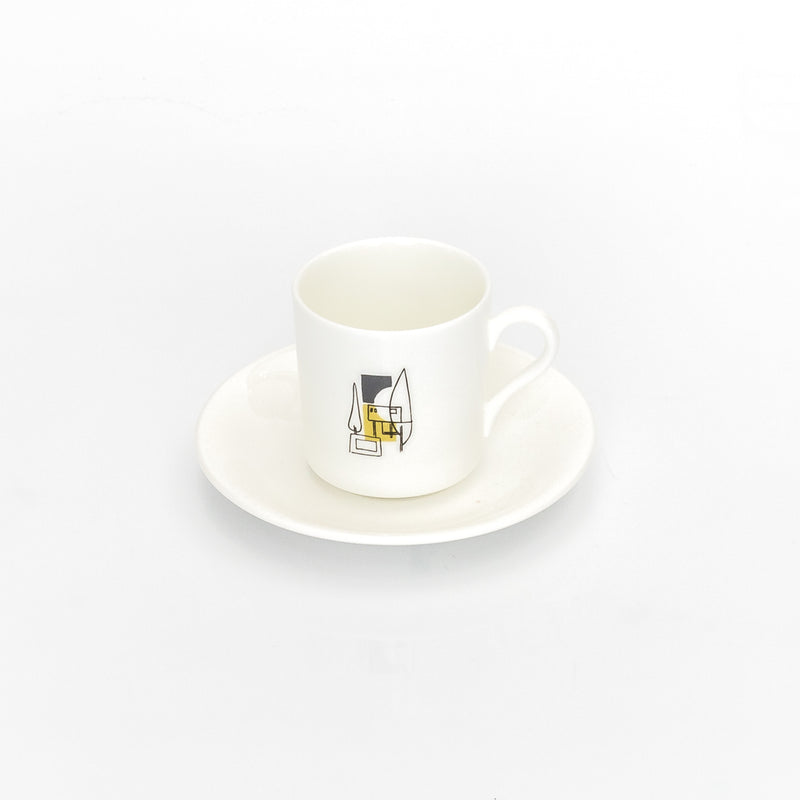 Nordic China Espresso Cup and Saucer