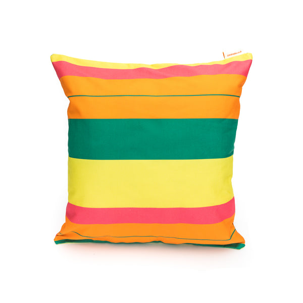 Zest Stripe Print Cushion Cover