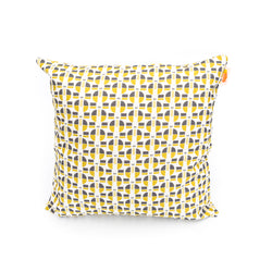 Nordic Button Print Cushion Cover