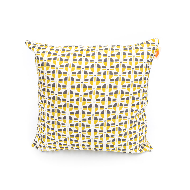 Nordic Buttons Print Cushion Cover
