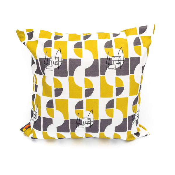 Nordic House Print Cushion Cover