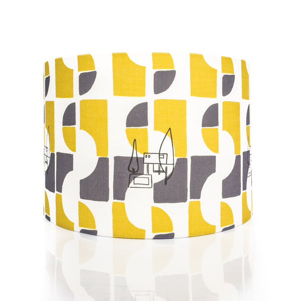Nordic House Print Lamp Shade