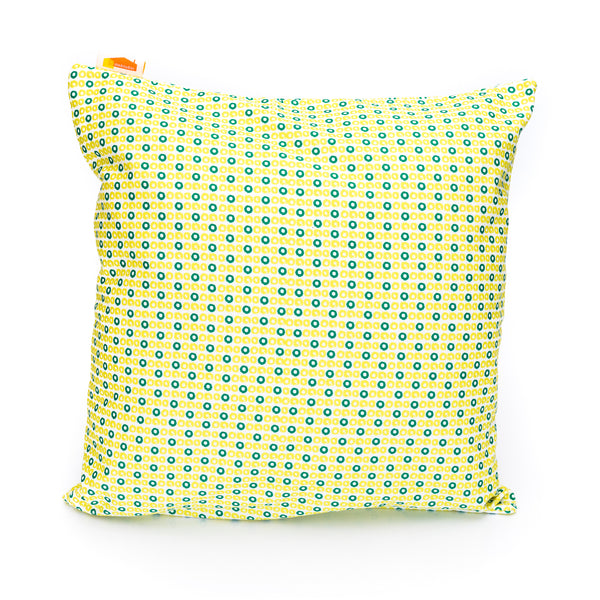 Zest Celery Slice Print Cushion Cover