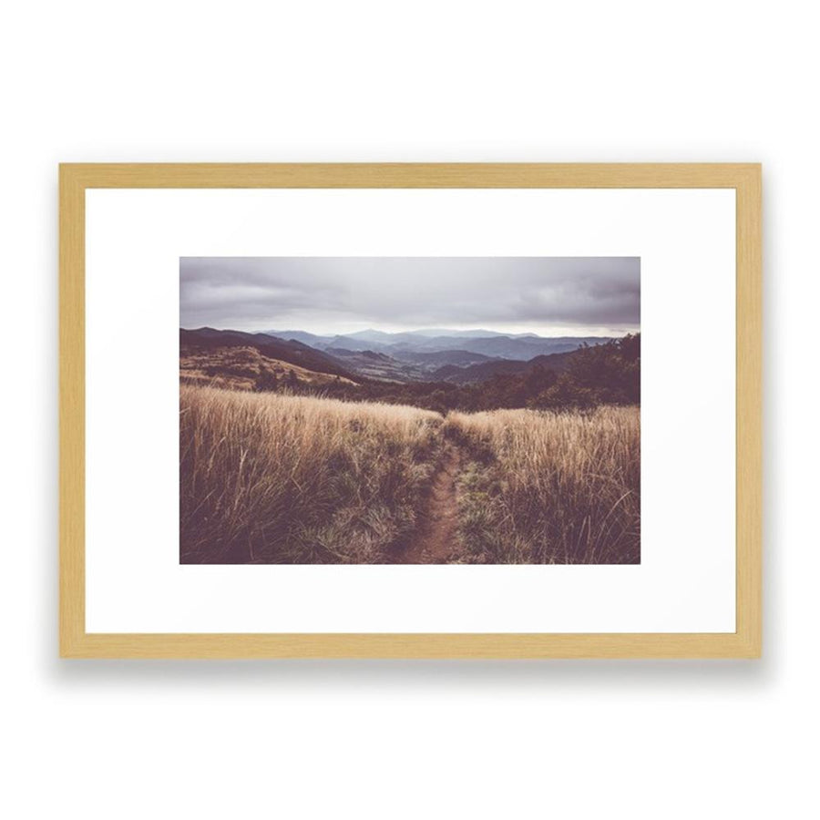 Bieszczady Mountains Framed Art