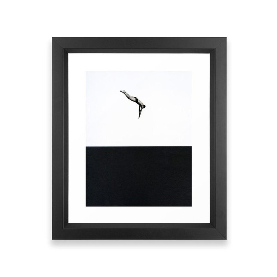 Dive Framed Art