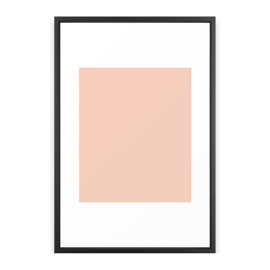 Peach. Framed Art