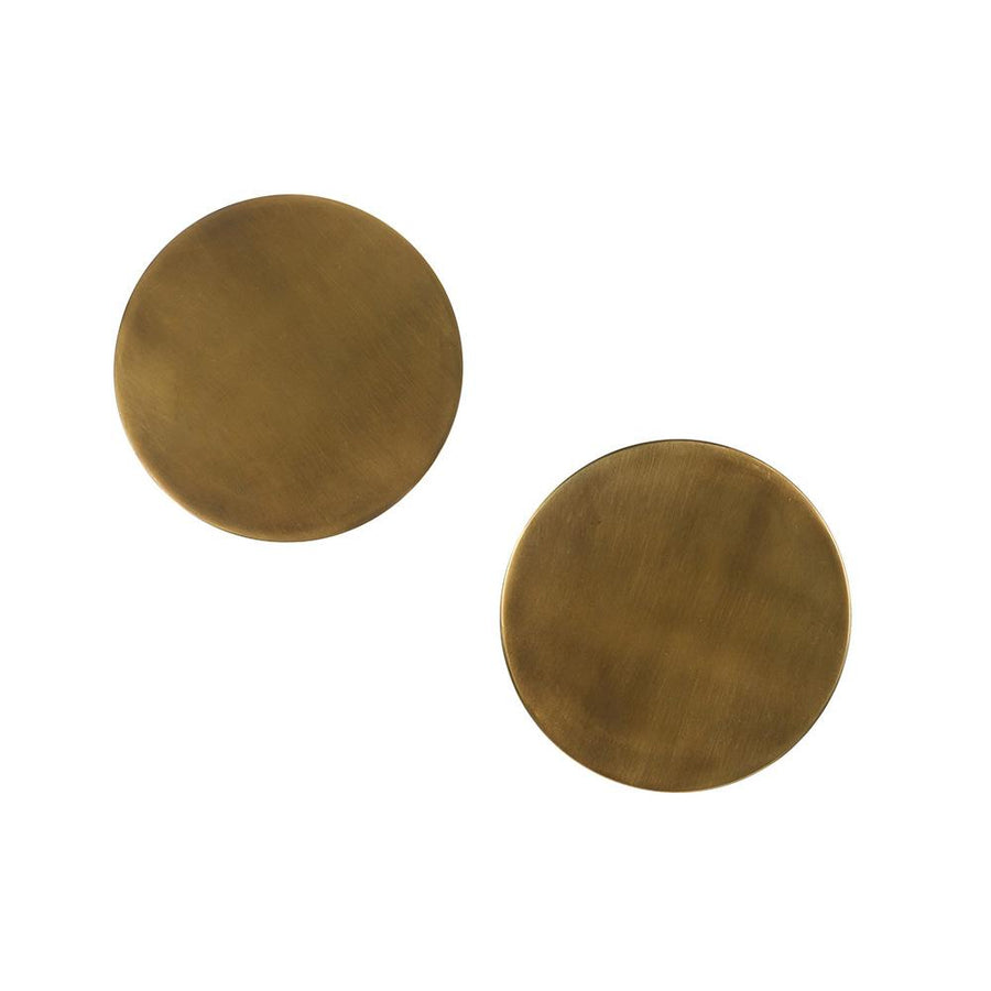 Brass Coasters, Set of 2