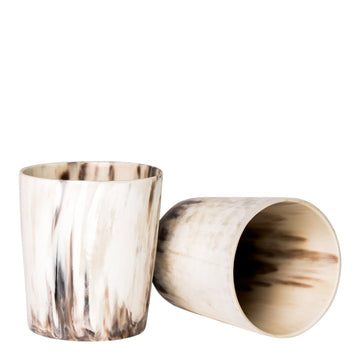Ankole Horn Tumblers, Set of 2