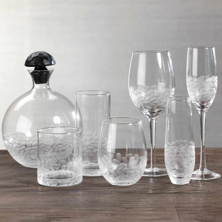 Villa Decanter with Frosted Stopper