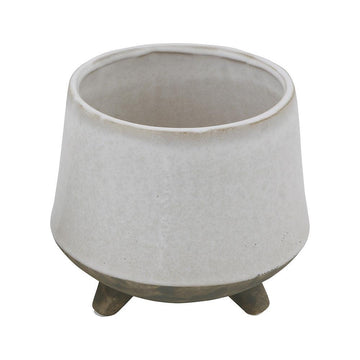 Large Stoneware Flower Pot