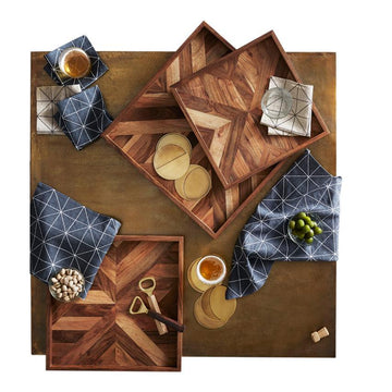 Medium Marquetry Tray