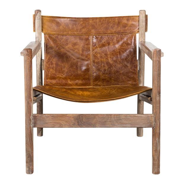 Tobacco Sling Chair