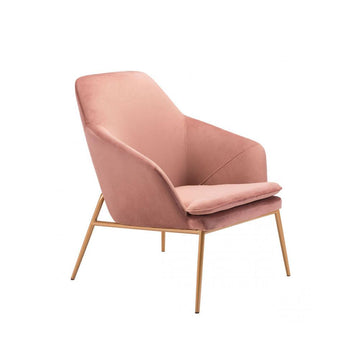 Modern Pink Arm Chair