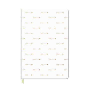 Arrows Faux Leather Journal