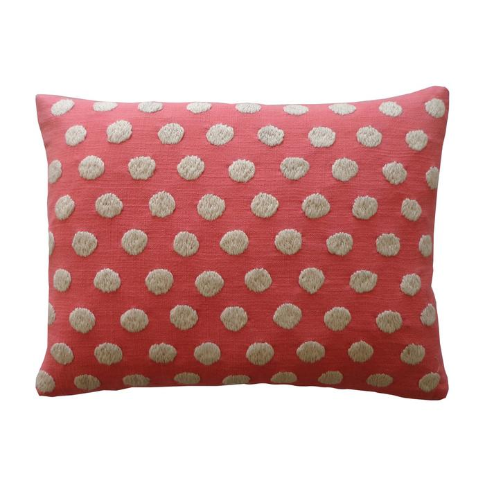 Puff Coral Pillow