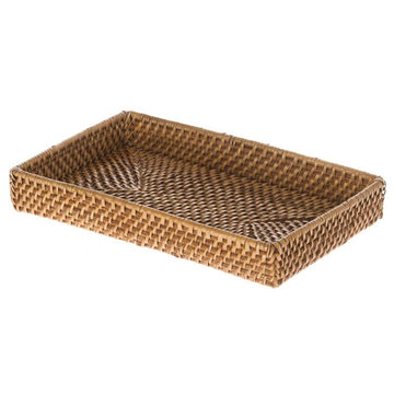 Laguna Rectangle Vanity Rattan Tray