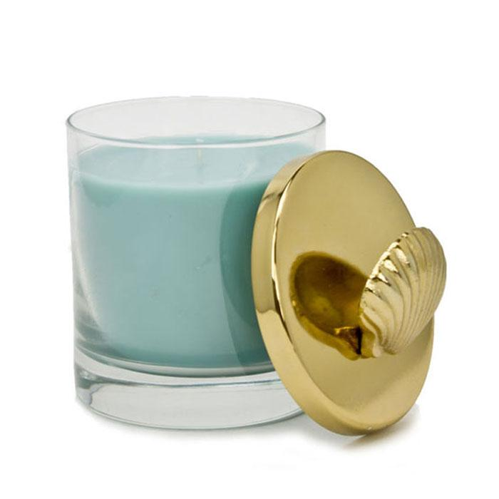 Atlantic Shore Gold Lid Nautical Collection Candle