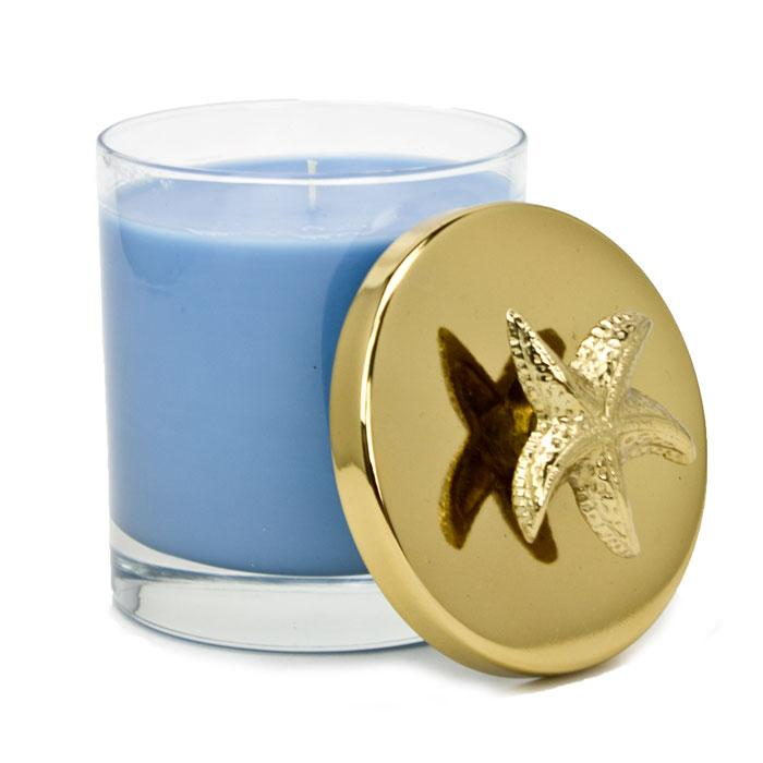 Mystic Seas Gold Lid Nautical Collection Candle