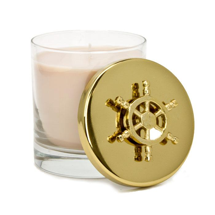 Sail Away Gold Lid Nautical Collection Candle
