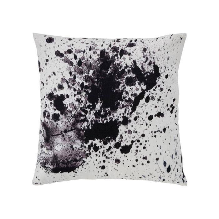 NY Splatter Pillow