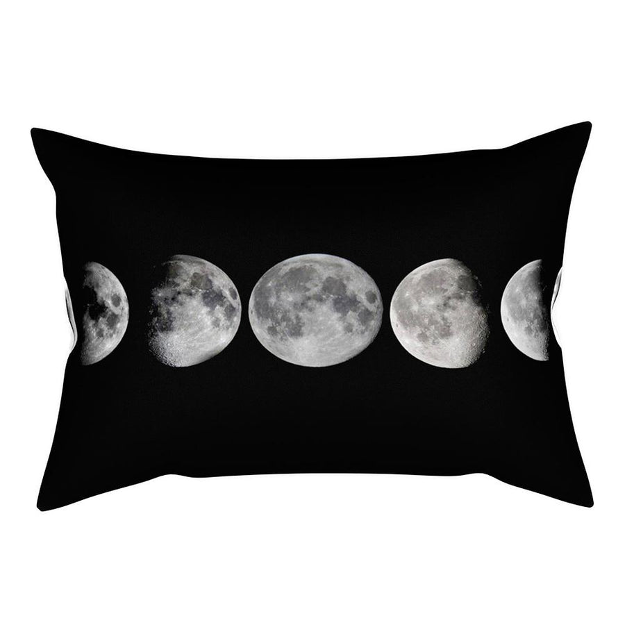Phases of the Moon Rectangular Pillow
