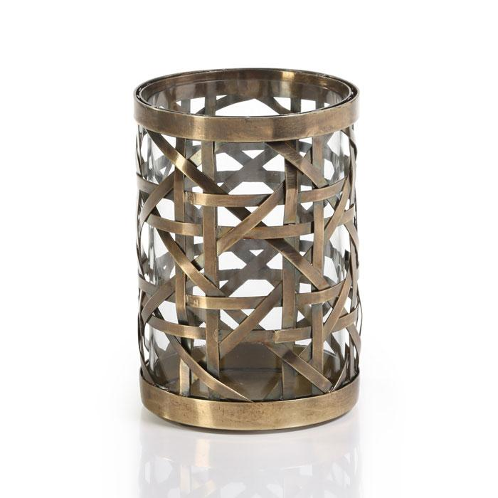 Small Heritage Polished Steel Weave Hurricane
