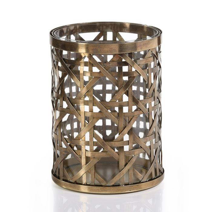 Medium Heritage Polished Steel Weave Hurricane