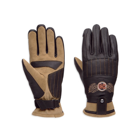 Maize Touchscreen Leather Gloves (97129-19VW)