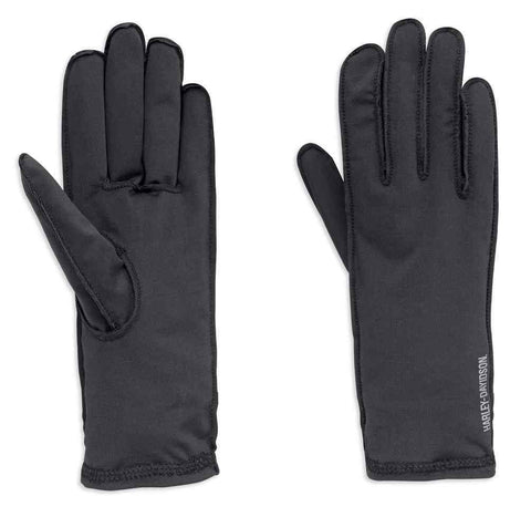 Harley-Davidson® Men's Caruso Full-Finger Glove Liner, Black.  98225-18VM
