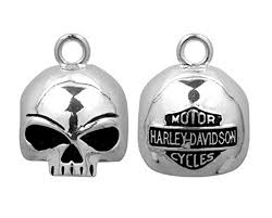 ROUND WILLIE G™ SKULL RIDE BELL HRB020