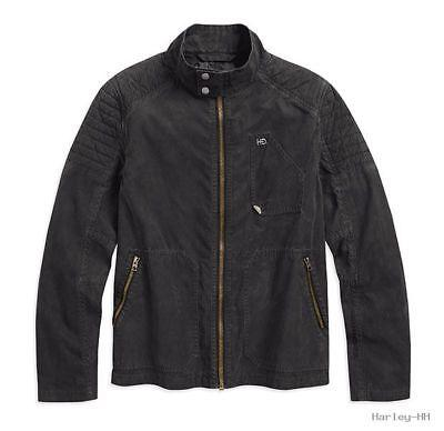 Men's Waxed Casual Jacket 97411-17vm