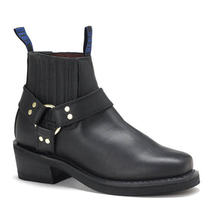 Men's Classic Short Biker Boots. JR18190413