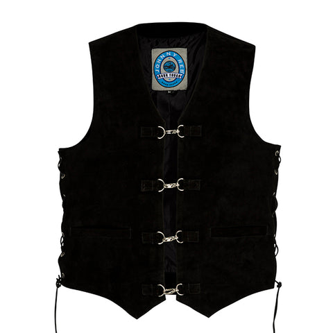 Johnny Reb Mens Longreach Suede Leather Vest - JRV10004