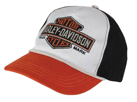 Harley-Davidson® Little Boys' Embroidered Bar & Shield Baseball Cap. 7280619
