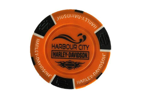Harbour City Harley Davidson Dealer Poker Chips