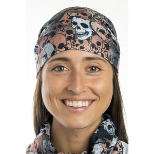 HEADSOX SKULLS FLEXIBLE HEADWEAR.