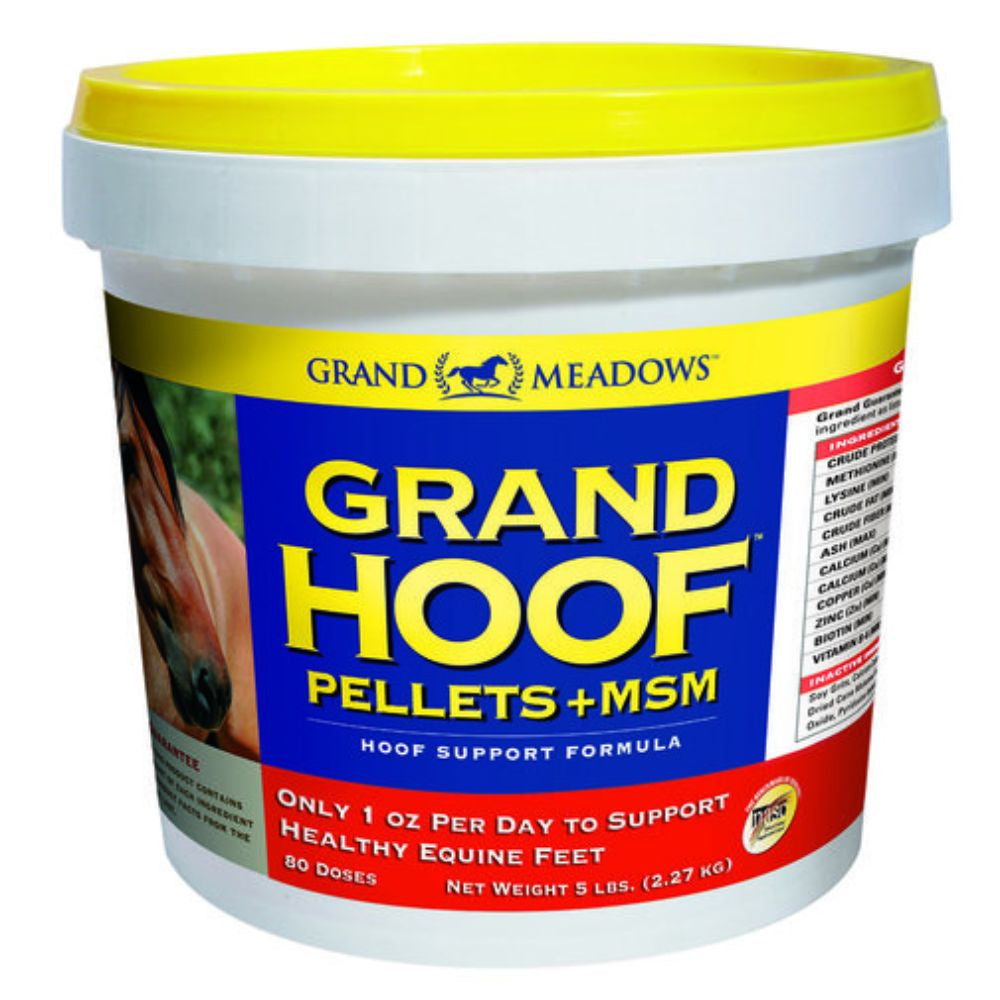 Grand Meadows Hoof Pellets + MSM