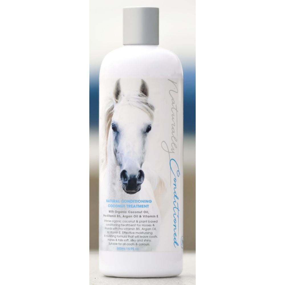 Naturally Conditioned Coconut Treatment Horse Shampoo