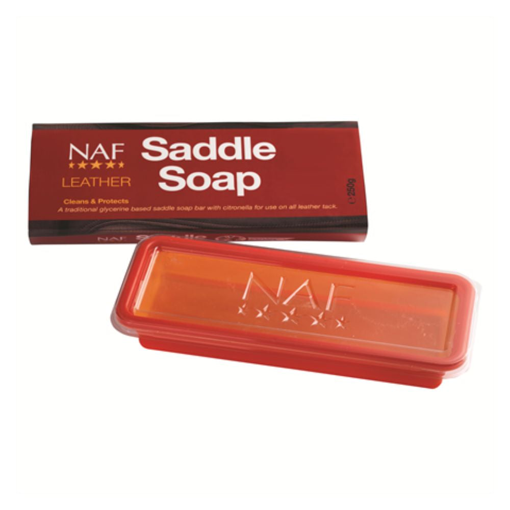 NAF Leather Saddle Soap Bar 250g
