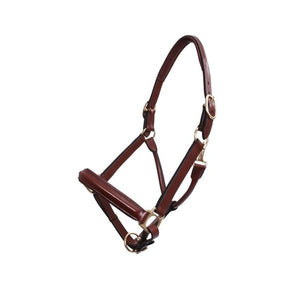 Platinum Leather Show Halter
