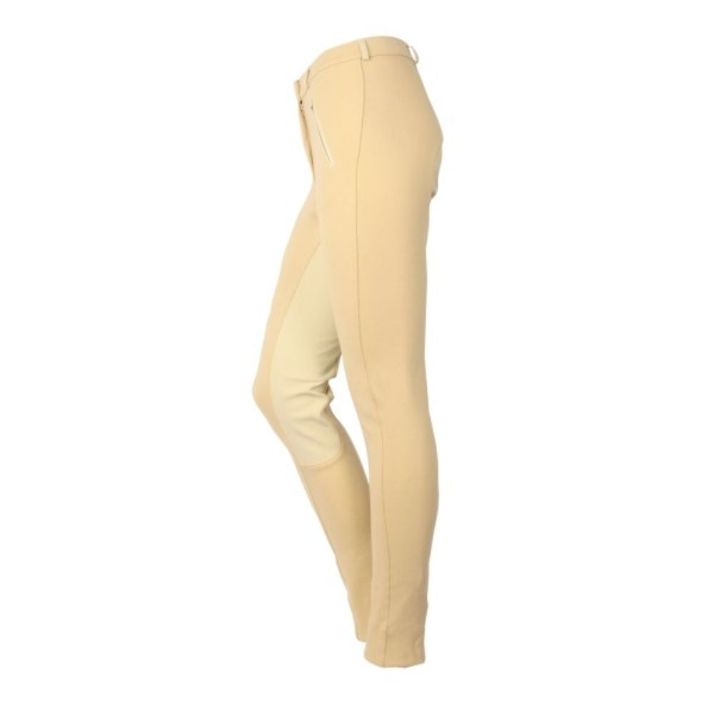 Saxon Childs Cotton Jodhpurs - Full Seat