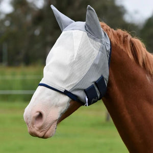 Horze Durable Fly Mask with Ears