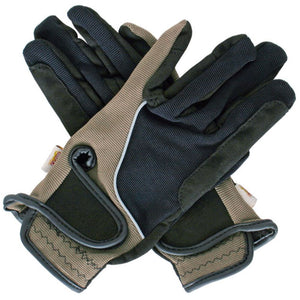 Amara Riding Gloves Black Grey