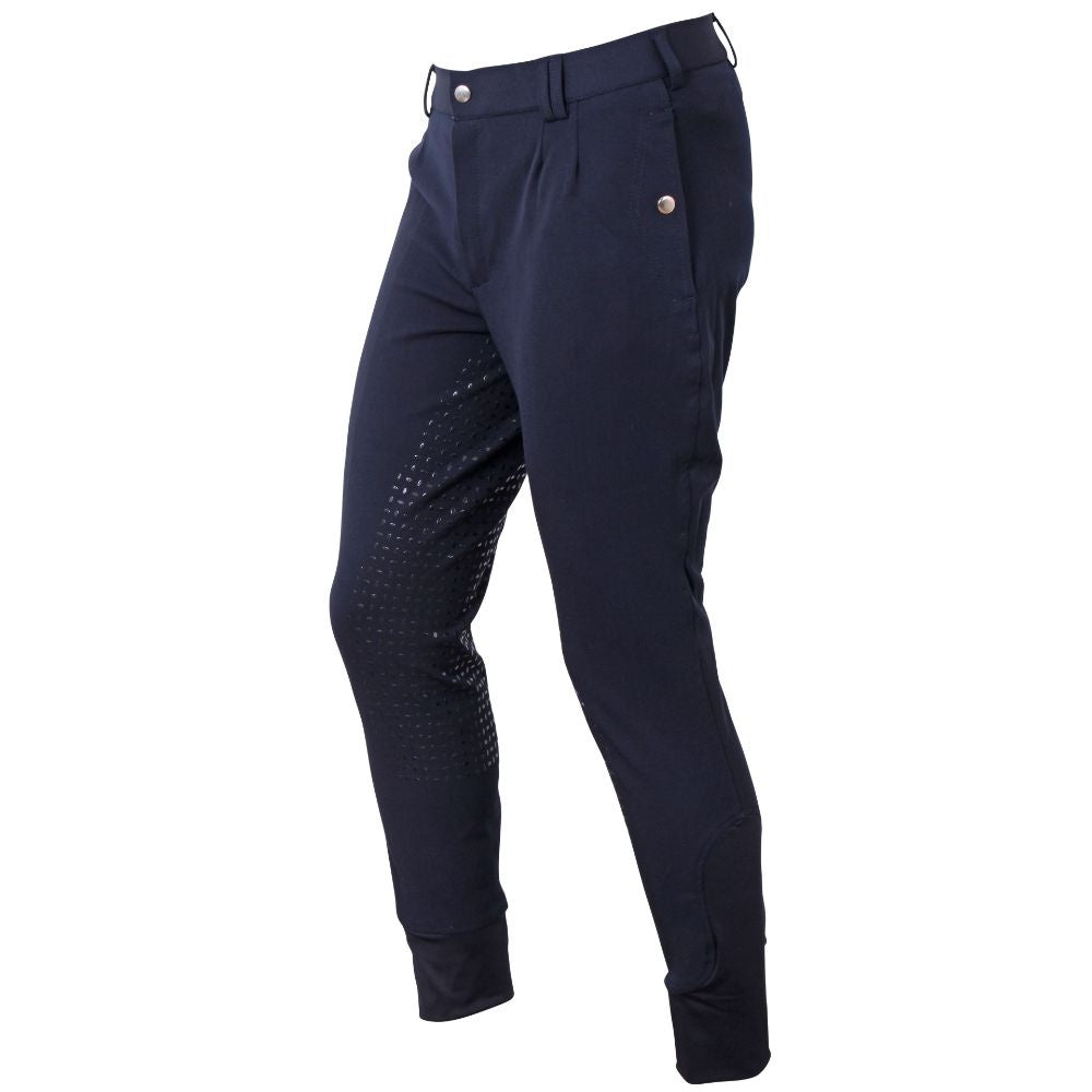 Cavallino Badminton Mens Breeches Navy