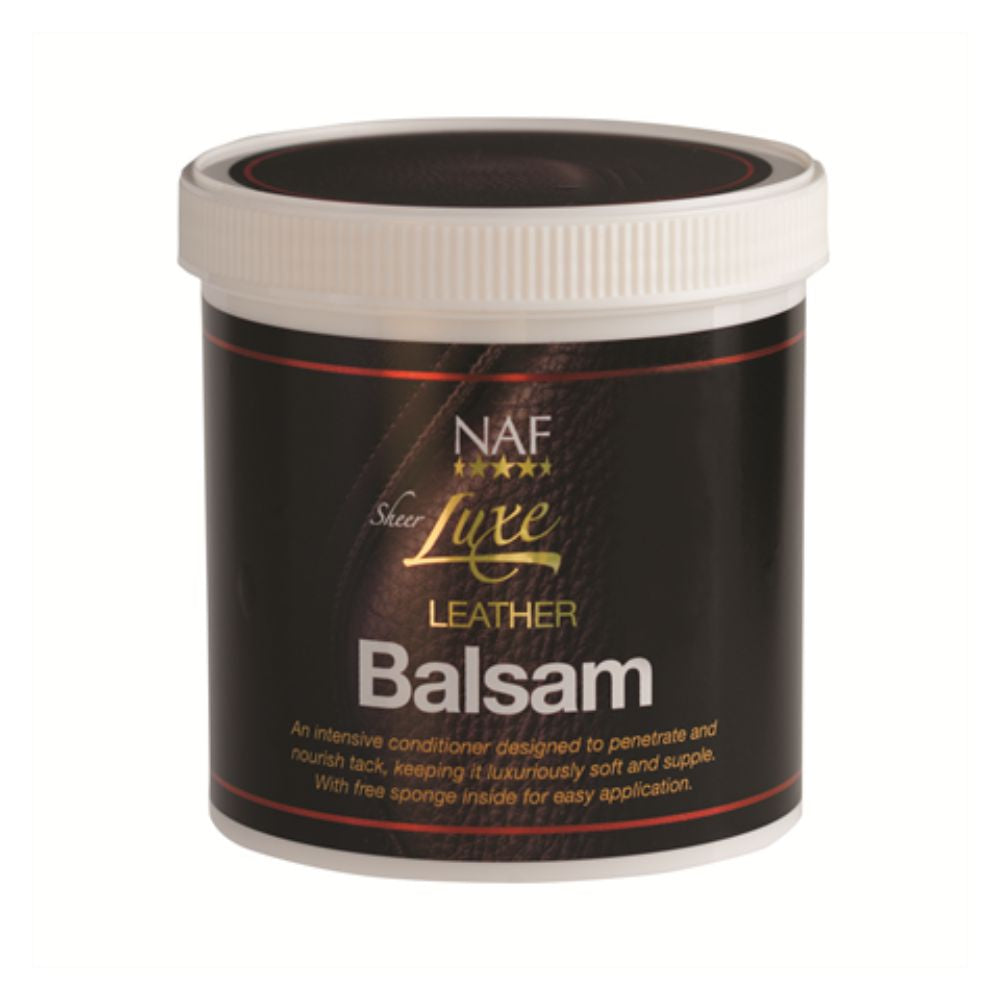 NAF Sheer Luxe Leather Balsam 400g