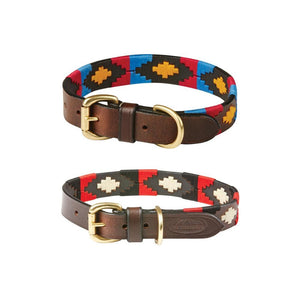 Weatherbeeta Polo Leather Dog Collar