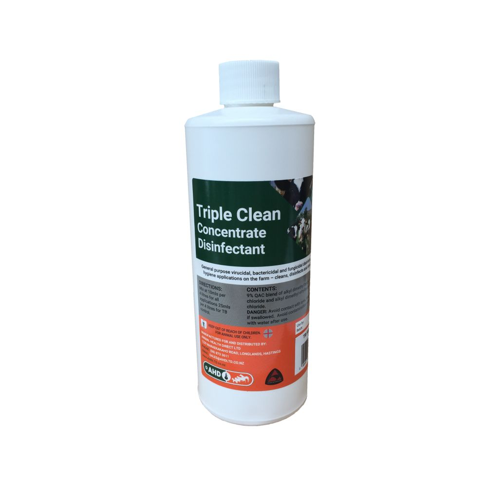 Triple Clean Concentrate Disinfectant