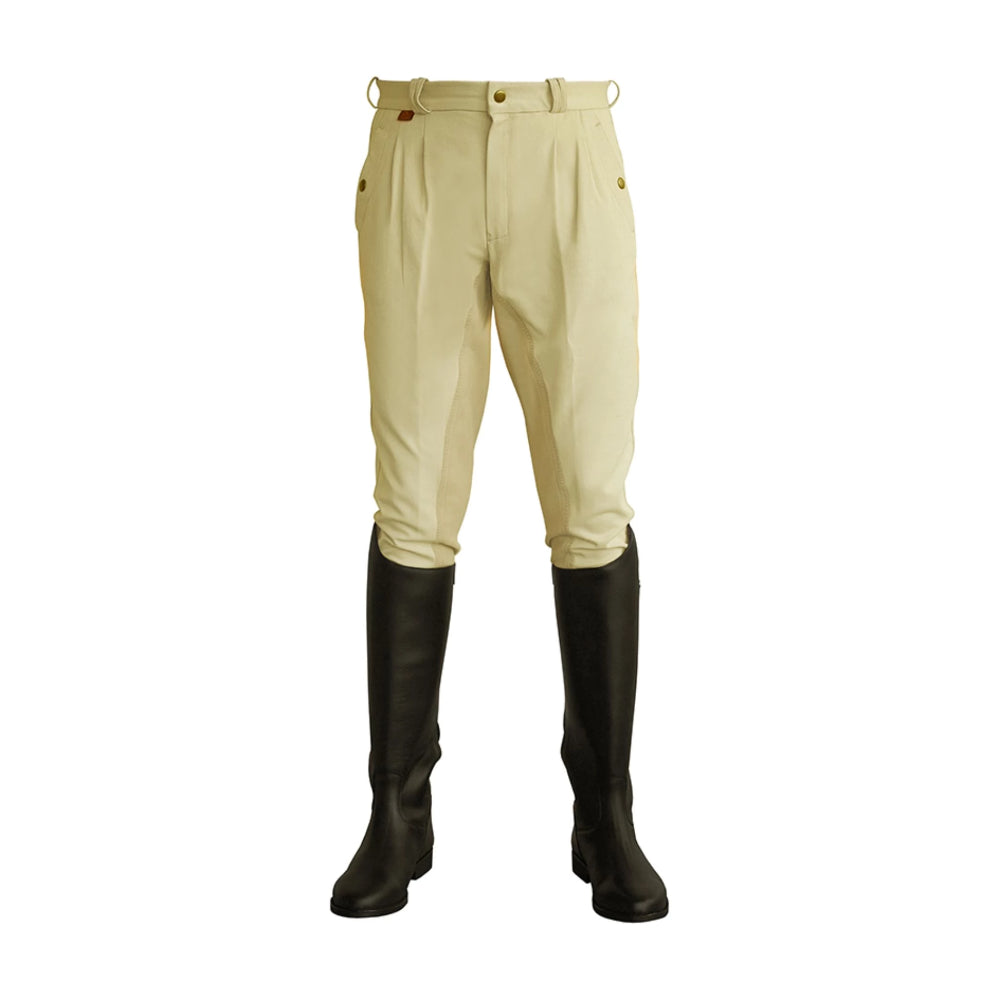 Cavallino Men's Pleated Breeches
