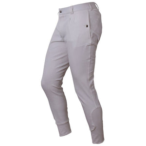 Cavallino Badminton Mens Breeches White