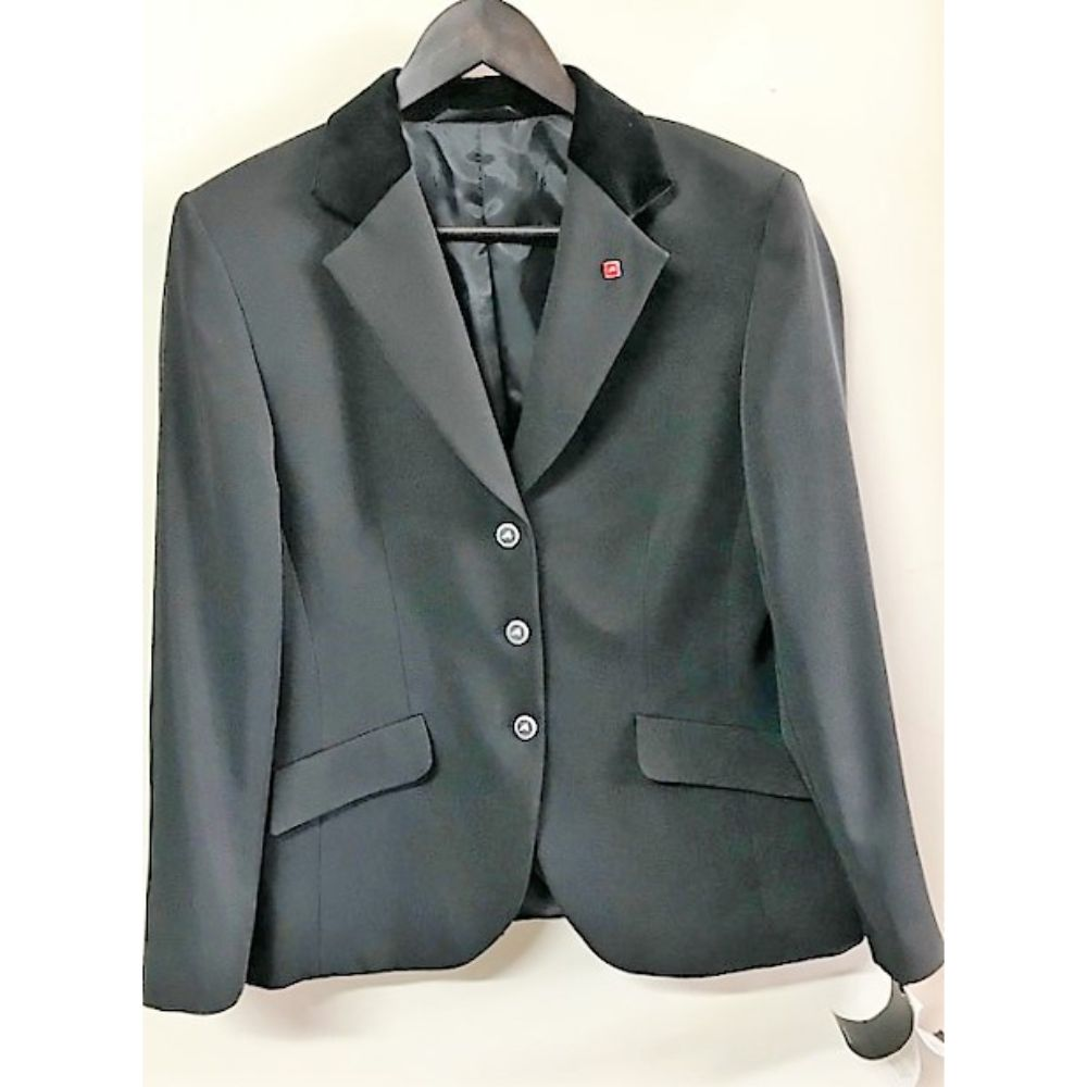 EUROSTAR JEANETTE COMPETITION JACKET BLK 42 (12)